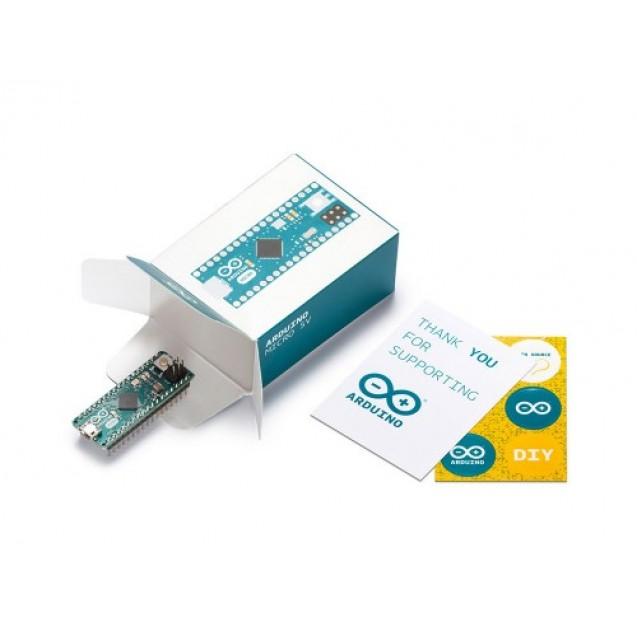 Плата микроконтроллера Arduino Micro (Оригинал Италия)