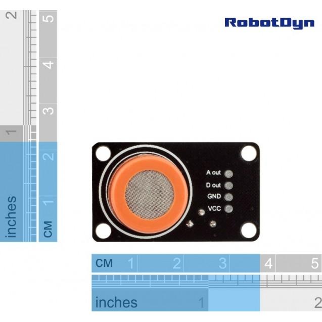 MQ-3 - датчик паров спирта RobotDyn