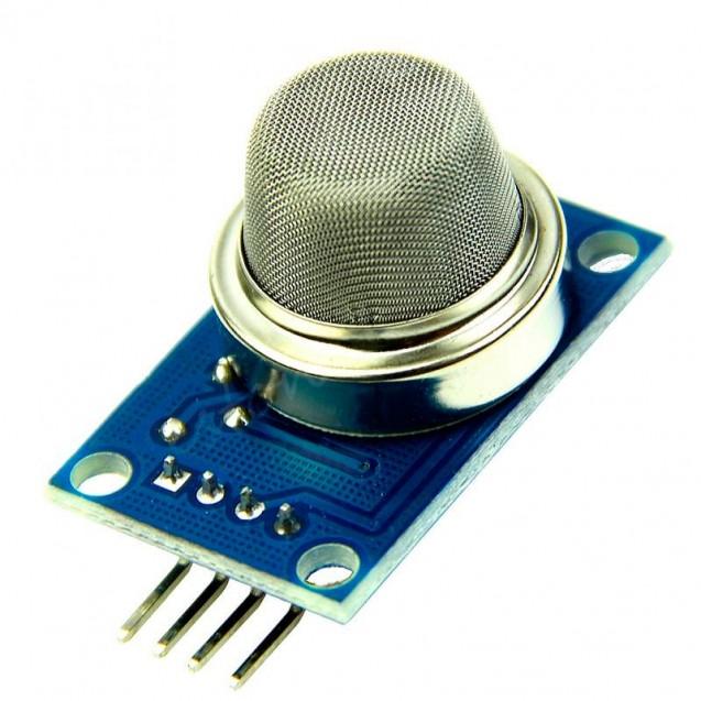 Модуль датчика газа MQ-2 - бутан, пропан, метан, спирт, водород, сигаретный дым