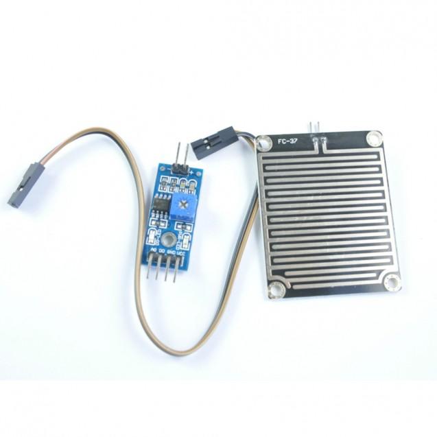 Датчик дождя c отдельным чувствительным элементом и настройкой чувствительности, собранный на микросхеме LM393 для Arduino