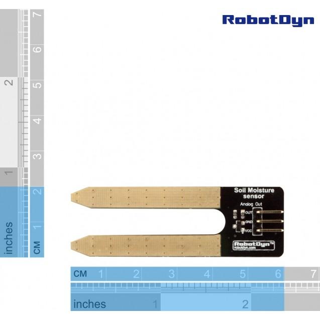 Датчик влажности почвы RobotDyn