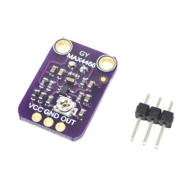 Датчик звука GY-4466 MAX4466