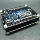 Корпус для ArduinoUno черный с гравировкой